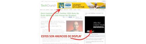 SEM: Display ads
